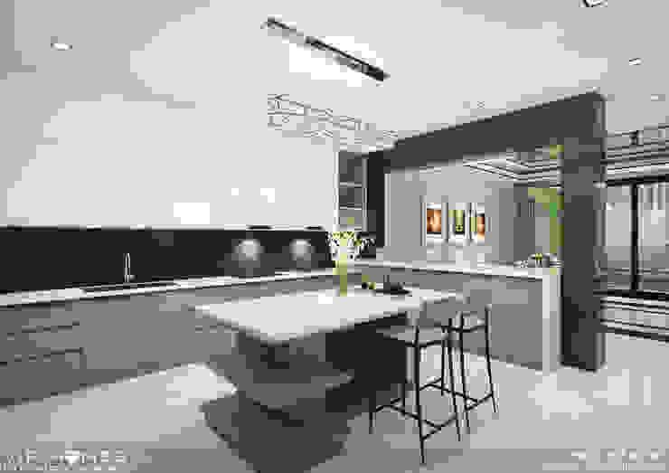 Thiết kế không gian nội thất phòng bếp bởi homify