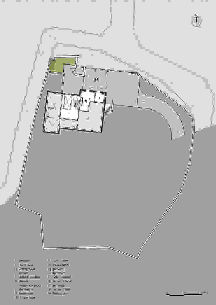 BF PLAN: (주)자림이앤씨건축사사무소의 현대 ,모던