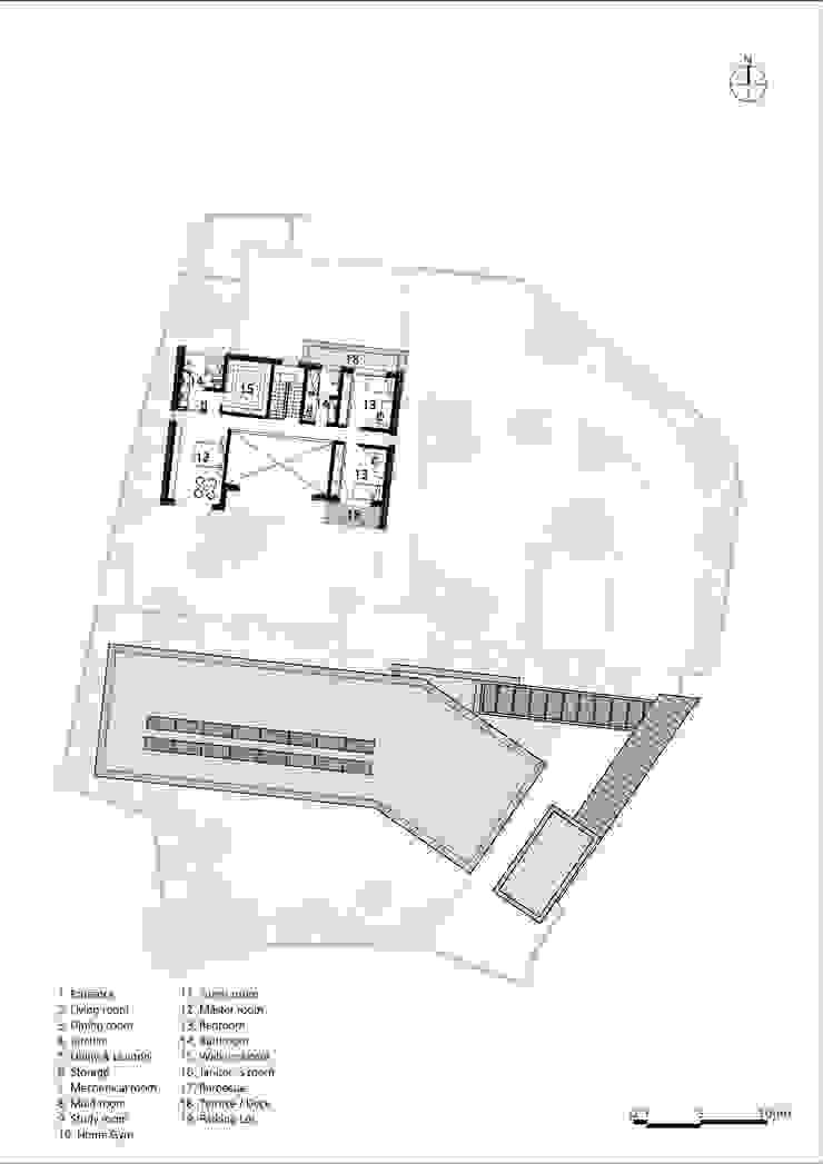 2F PLAN: (주)자림이앤씨건축사사무소의 현대 ,모던