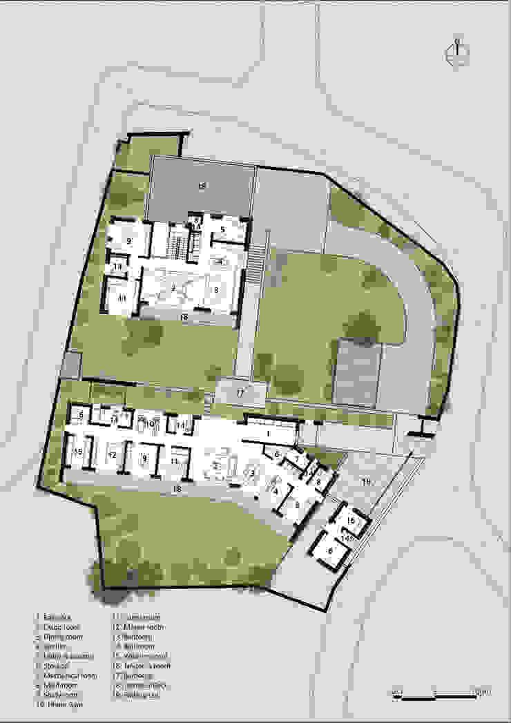 PLAN: (주)자림이앤씨건축사사무소의 현대 ,모던