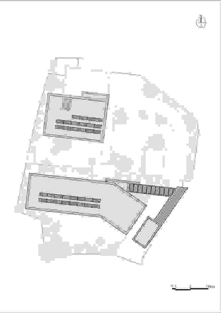 ROOF PLAN: (주)자림이앤씨건축사사무소의 현대 ,모던