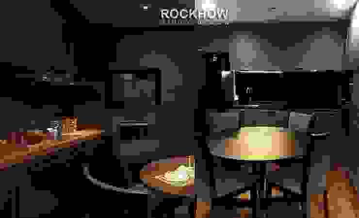 งานออกแบบรีโนเวทคอนโด: ทันสมัย  โดย Rockhow Studio Design, โมเดิร์น