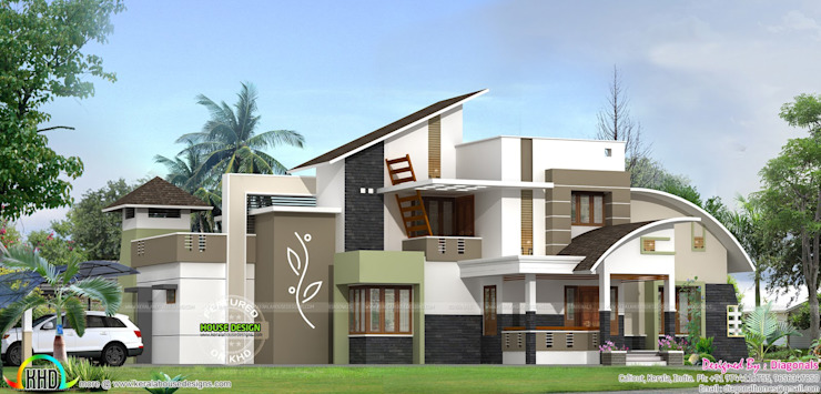 Kerala Home designs by House Designs