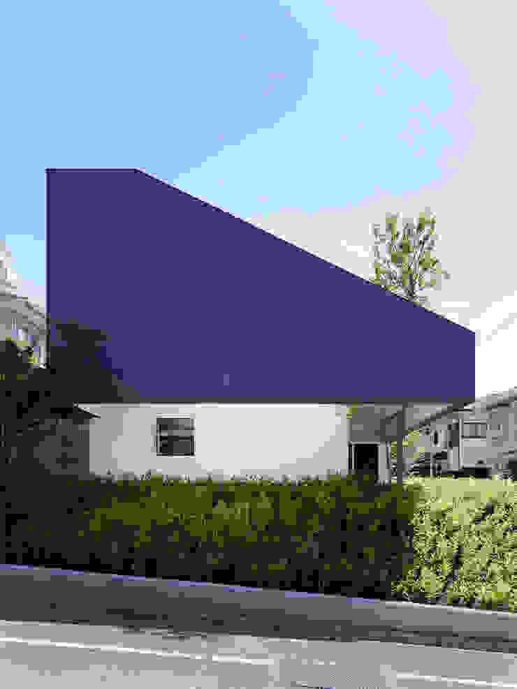 TY 光が降り注ぐテラスのある家 モダンな 家 の 山縣洋建築設計事務所 モダン