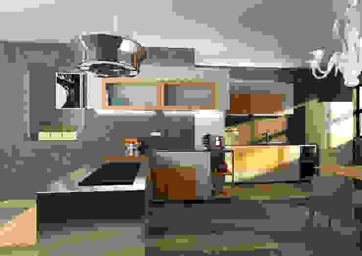 Cucina Cucina moderna di 2mgdesignsolution Moderno