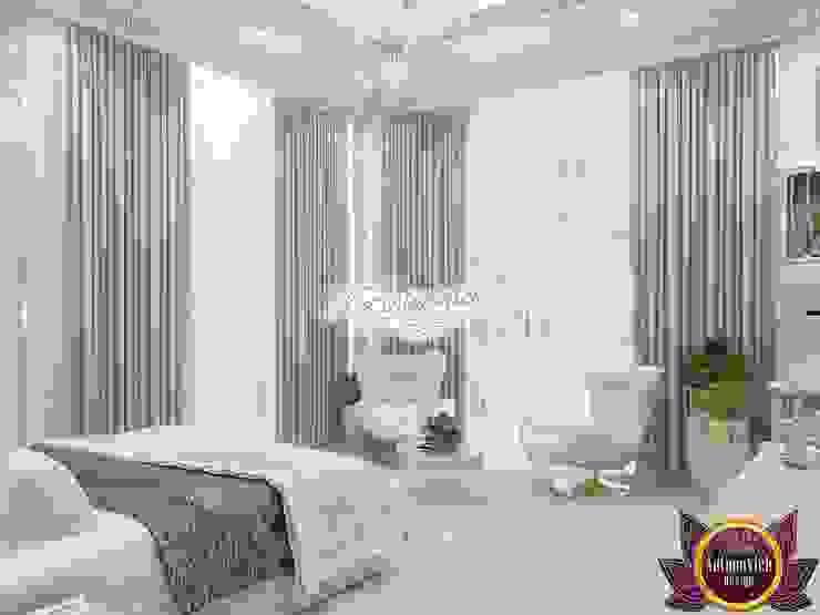 Amazing interior design by Katrina Antonovich Modern style bedroom by Luxury Antonovich Design Modern