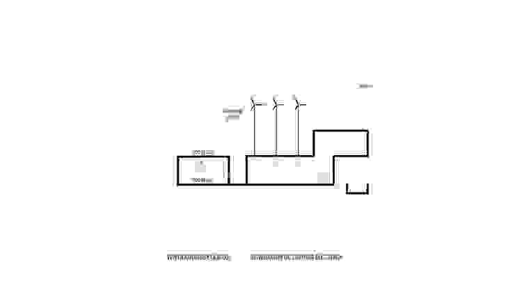 CASA BIO Casas modernas: Ideas, imágenes y decoración de Speziale Linares arquitectos Moderno