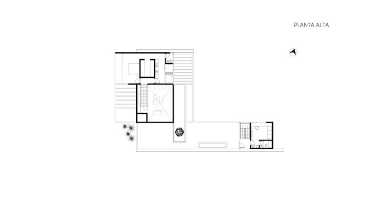 CASA BIO de Speziale Linares arquitectos Moderno