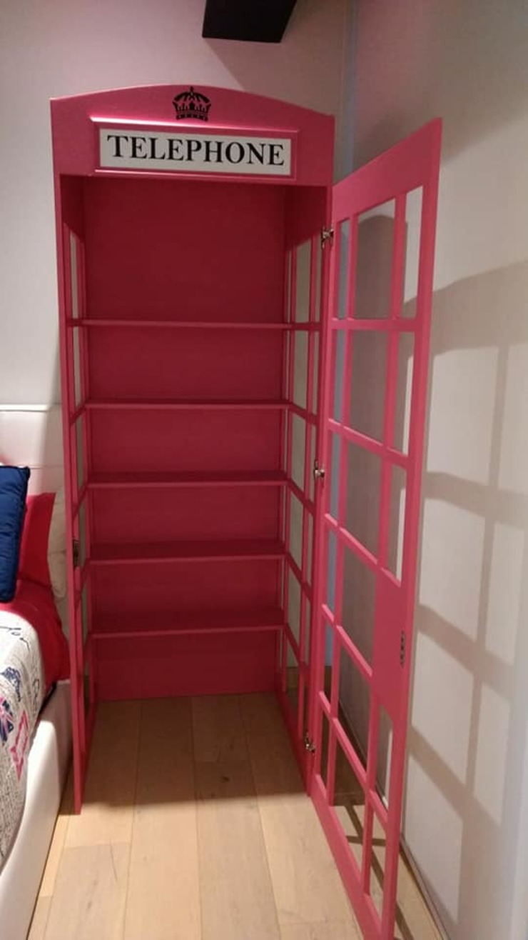 Divan ingenieria BedroomWardrobes & closets