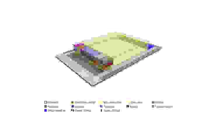 ANCLAMAR Centros de exposiciones de estilo industrial de Speziale Linares arquitectos Industrial