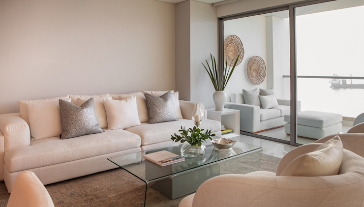 Living room by Maria Teresa Espinosa, Modern