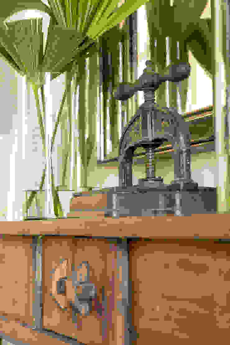 HACIENDA SANTA CRUZ DE PAPARE Jardines de invierno de estilo colonial de Maria Teresa Espinosa Colonial