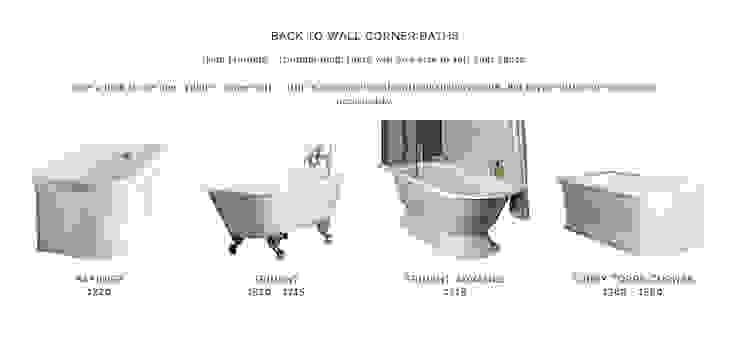 Meer dan 30 verschillende iso-enamel vrijstaande baden en baden op pooten van Albion Bath Company NL Landelijk