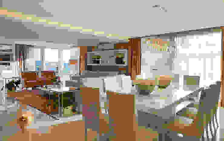 Ruang Makan Modern Oleh Maciel e Maira Arquitetos Modern