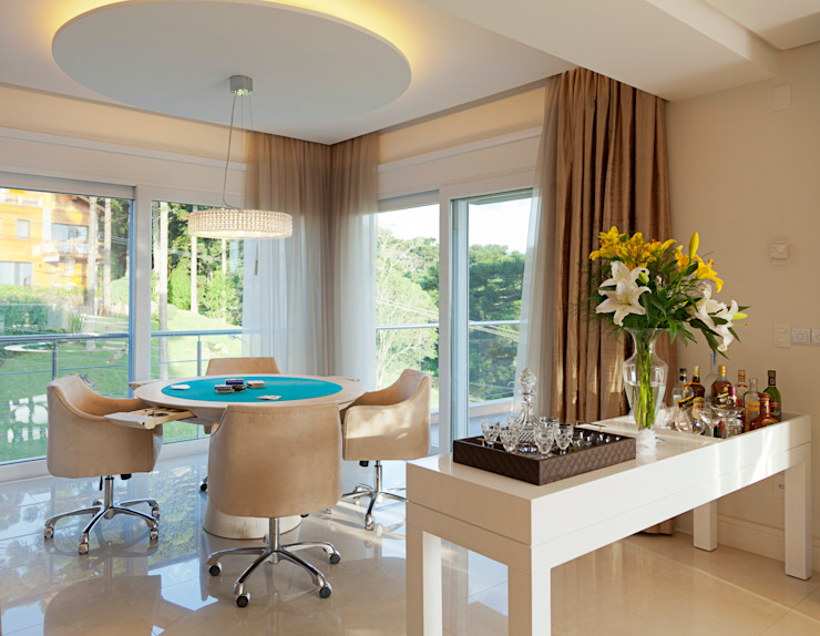 Ruang Keluarga Modern Oleh Maciel e Maira Arquitetos Modern