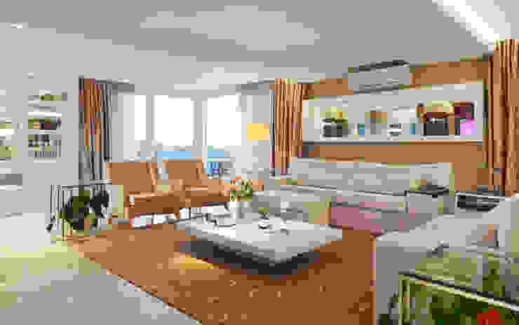 Moderne woonkamers van Maciel e Maira Arquitetos Modern