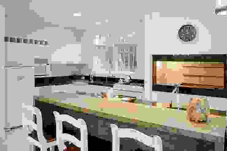 Ruang Makan Gaya Rustic Oleh Maciel e Maira Arquitetos Rustic