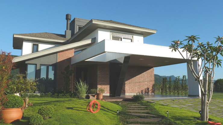 現代房屋設計點子、靈感 & 圖片 根據 Maciel e Maira Arquitetos 現代風