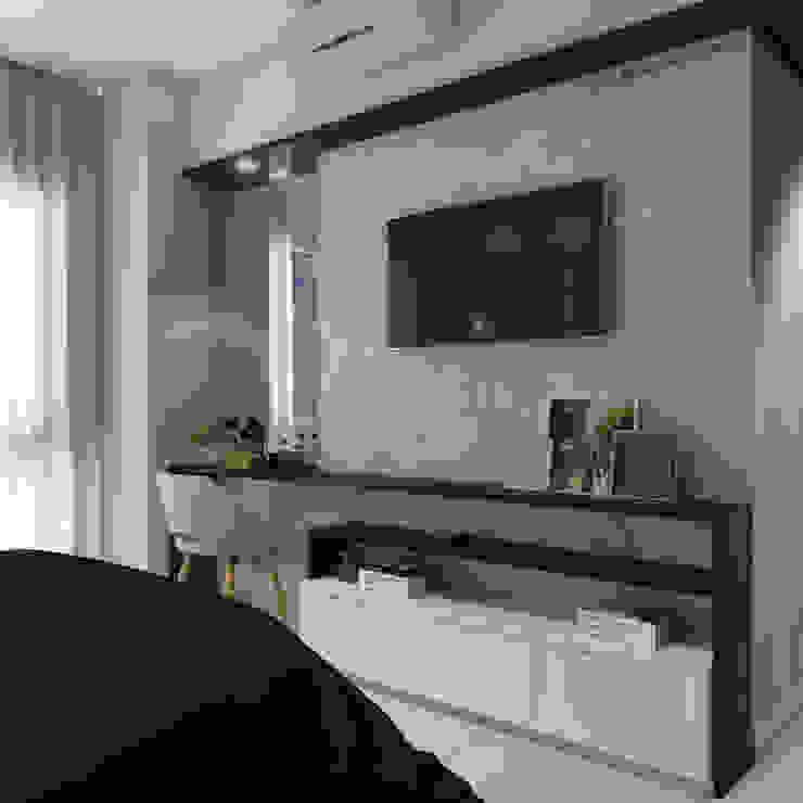 CASA DUE ARQUITETURA Modern Bedroom