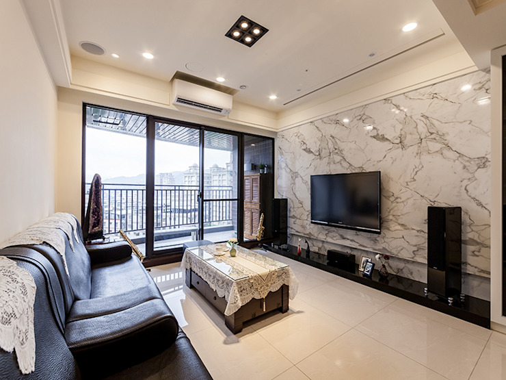 簡約感 影音機能屋 根據 好室佳室內設計