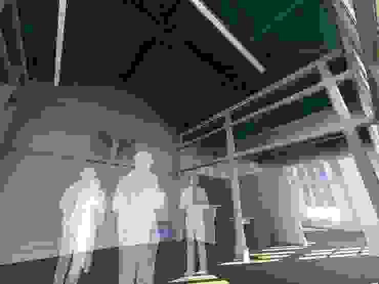 Pedro de Almeida Carvalho, Arquitecto, Lda クラシカルスタイルの 玄関&廊下&階段 無垢材 白色