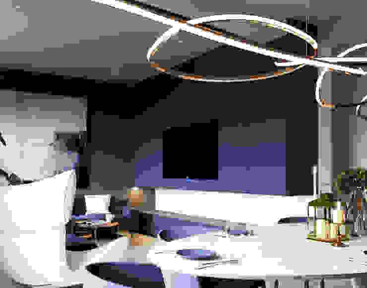 Ale design Grzegorz Grzywacz Living room Blue