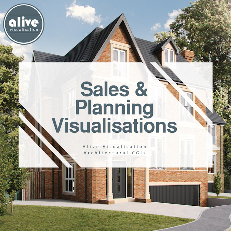 Interior and Exterior Architectural CGIs by Alive Visualisation