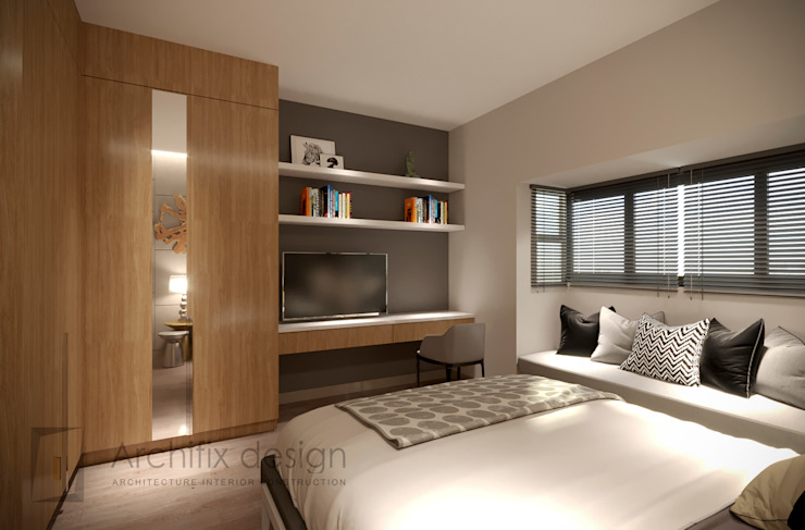 Công Ty TNHH Archifix Design Modern style bedroom
