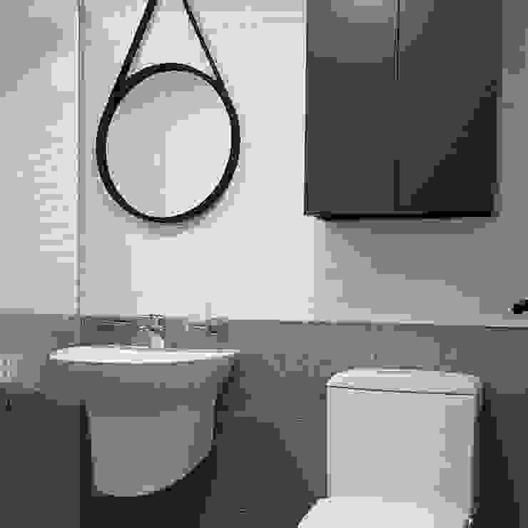 욕실 스칸디나비아 욕실 by DECORIAN 북유럽 타일
