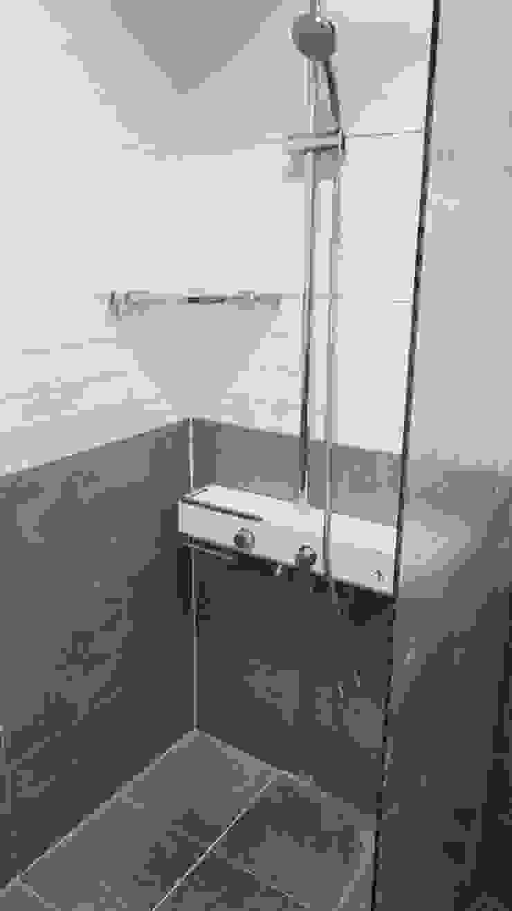 등촌동 현대 아이파크 아파트 스칸디나비아 욕실 by DECORIAN 북유럽 타일