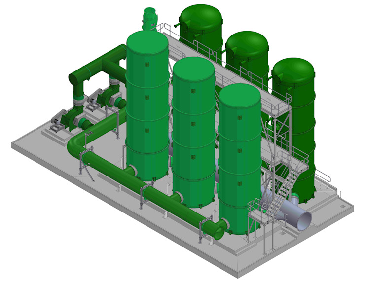 Plant Design Engineering Services by AutoCAD Drafting India