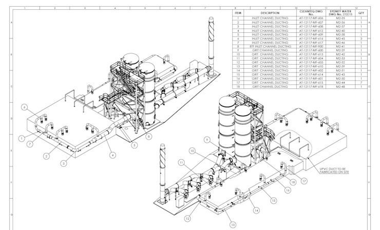 Mechanical 2D Drafting Services by AutoCAD Drafting India