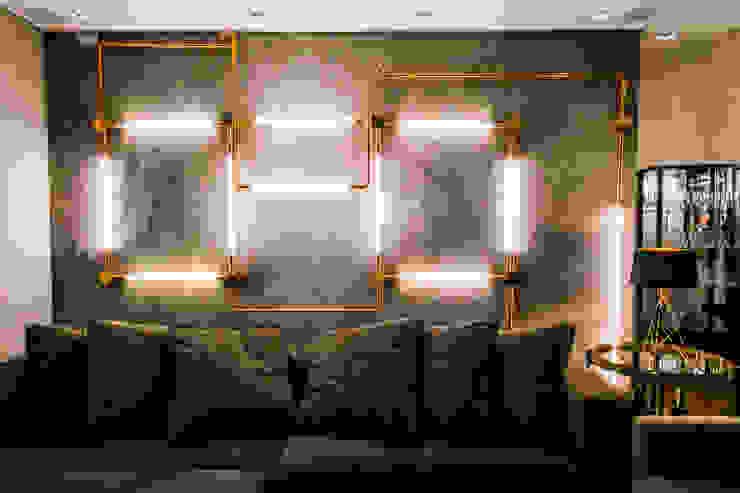 Saia Arquitetura Modern living room