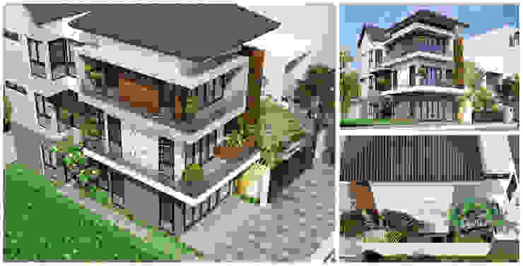Thiết kế nhà phố hiện đại bởi NEOHouse