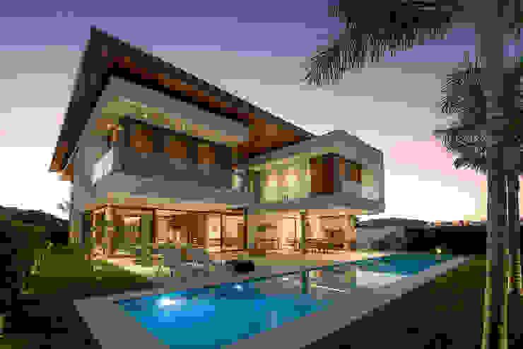 Modern houses by Ruschel Arquitetura e Urbanismo Modern Concrete