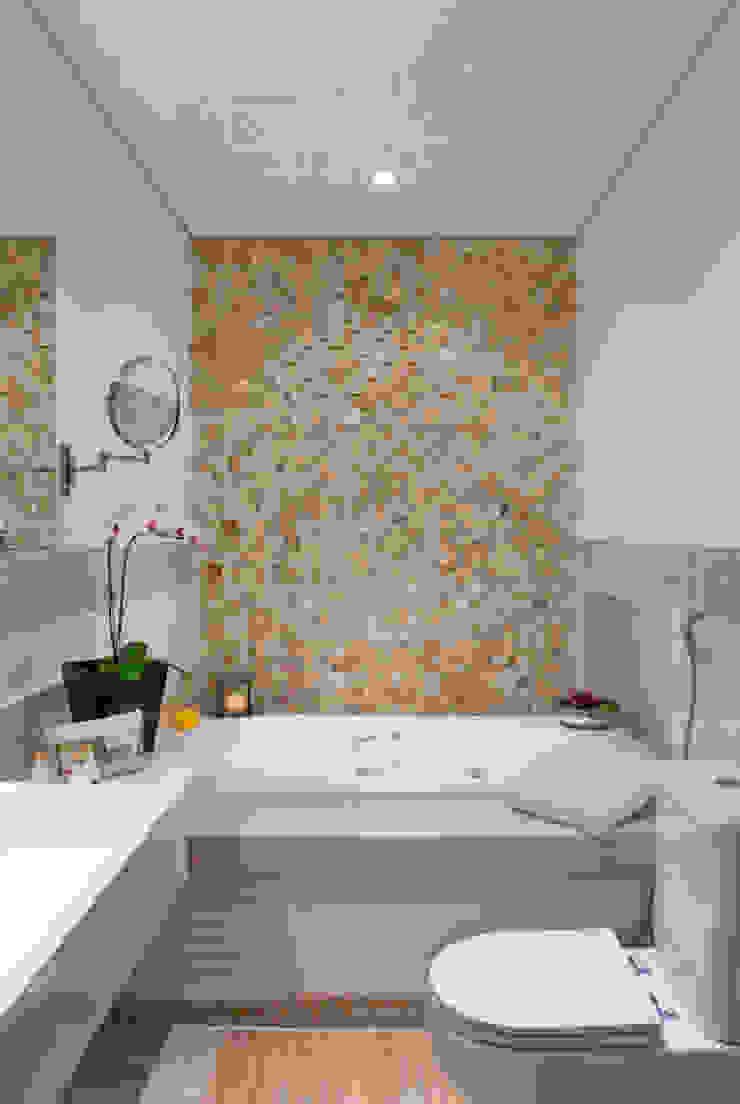 Moderne Badezimmer von okna arquitetura Modern MDF