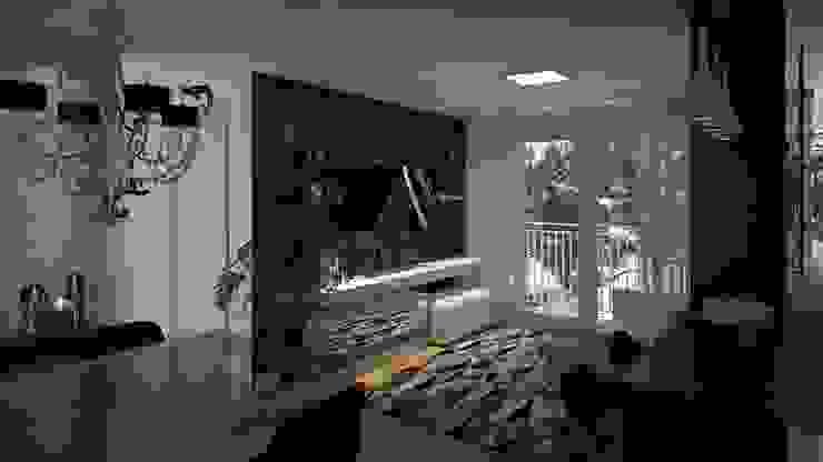 Estar | Jantar Salas de estar modernas por Area 3 Arquitetura Moderno