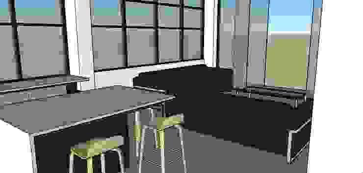 Vista parcial de la cocina de Proyectos Kukenán SAS Ecléctico