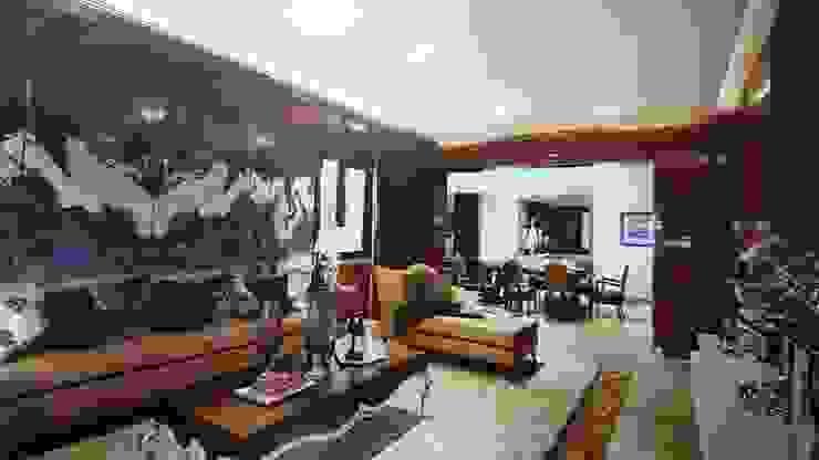 Interiors Modern style bedroom by shritee ashish & associates Modern