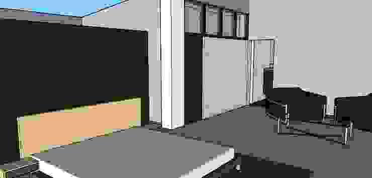 Habitacion Principal Habitaciones de estilo ecléctico de Proyectos Kukenán SAS Ecléctico