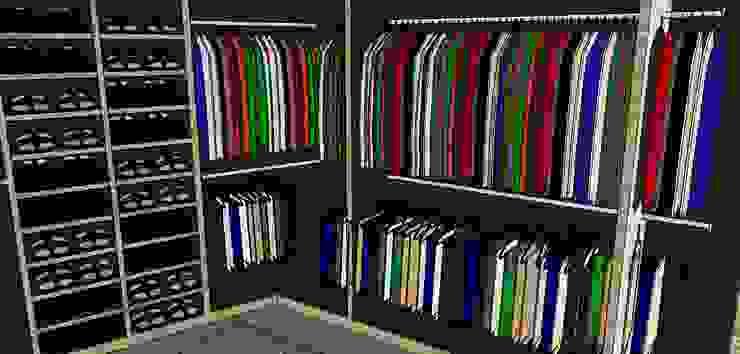 Vestier Vestidores de estilo ecléctico de Proyectos Kukenán SAS Ecléctico