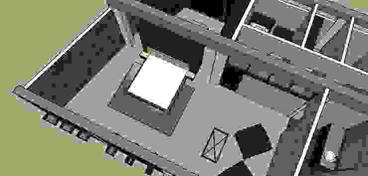 Habitacion Principal con vestier Habitaciones de estilo ecléctico de Proyectos Kukenán SAS Ecléctico