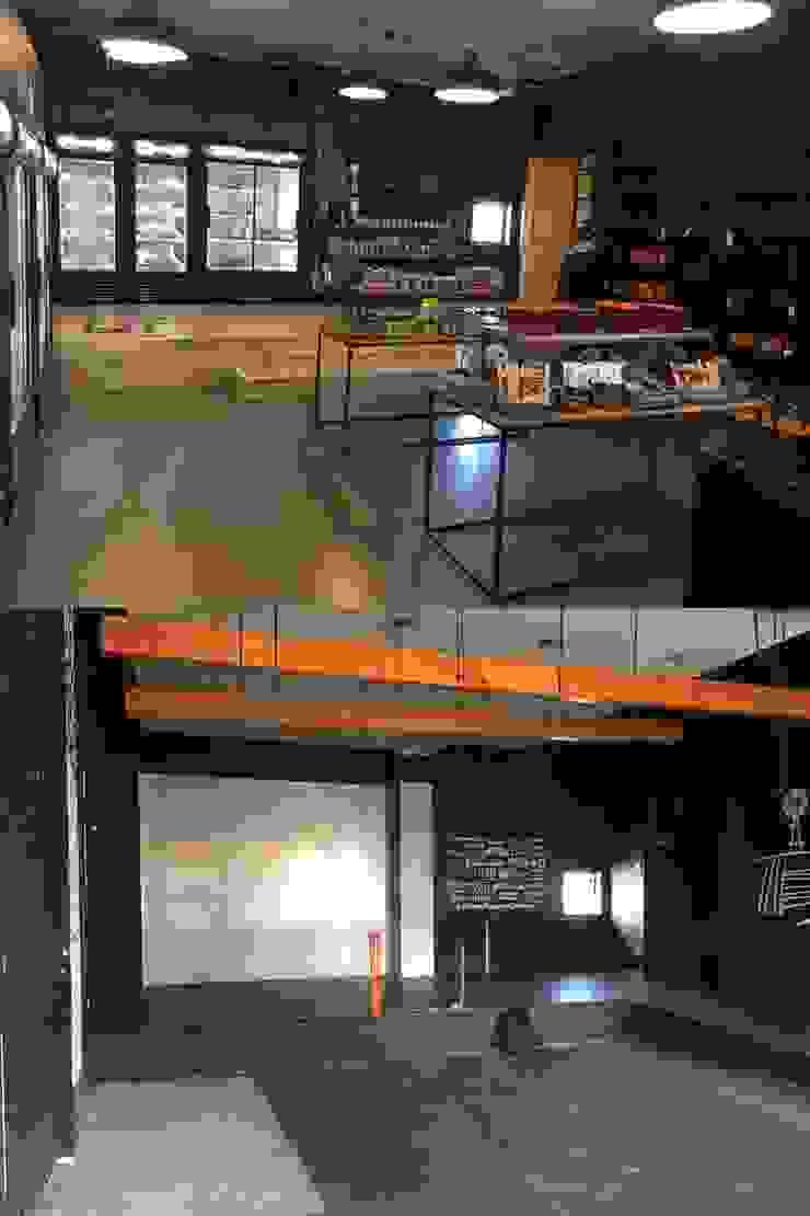 antes y después local comercial de Constructora ANyG
