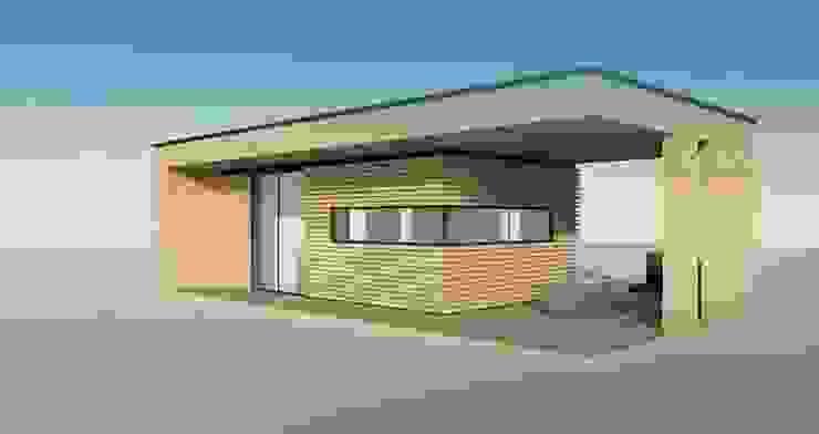 Modelo y diseño arquitectónico de Constructora ANyG
