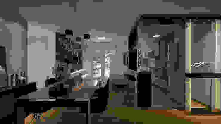 Estar | Jantar Salas de jantar modernas por Area 3 Arquitetura Moderno