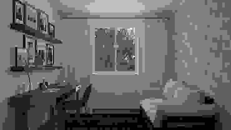 Home Office | Dormitório Hóspedes Escritórios modernos por Area 3 Arquitetura Moderno