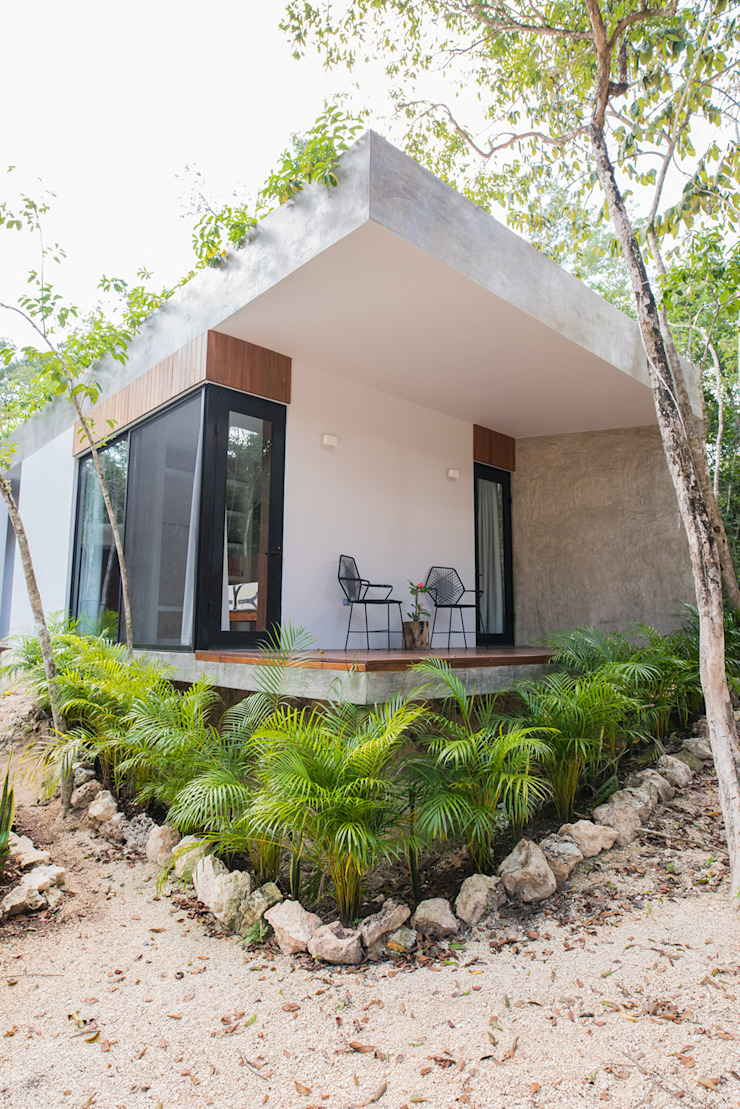 Modern houses by CO-TA ARQUITECTURA Modern