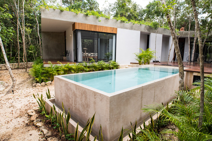CO-TA ARQUITECTURA Infinity pool
