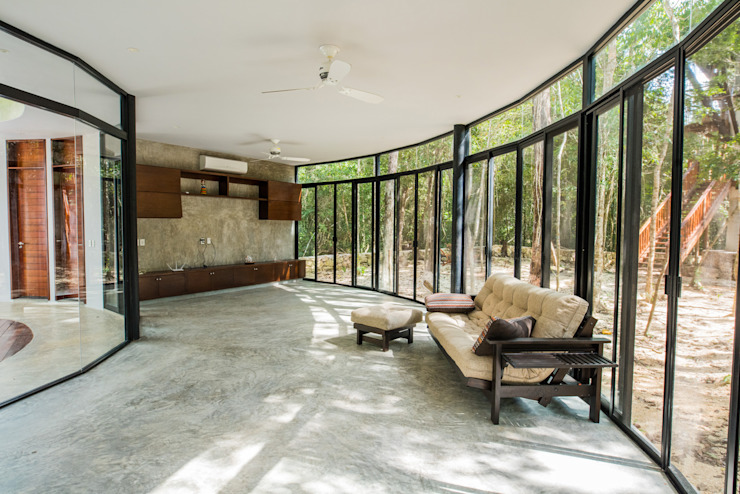 Modern living room by CO-TA ARQUITECTURA Modern
