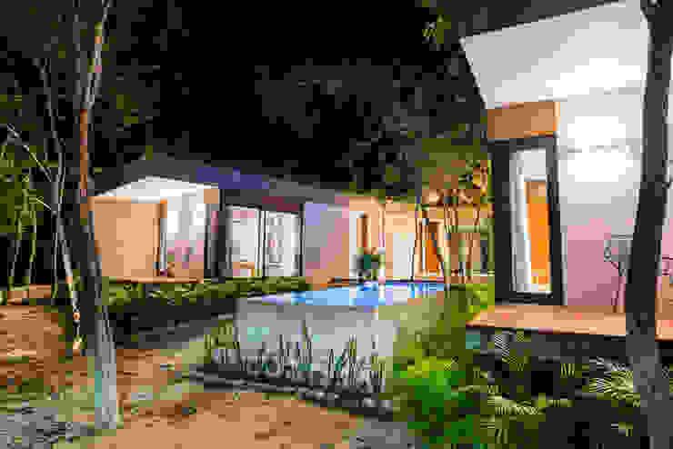 現代房屋設計點子、靈感 & 圖片 根據 CO-TA ARQUITECTURA 現代風